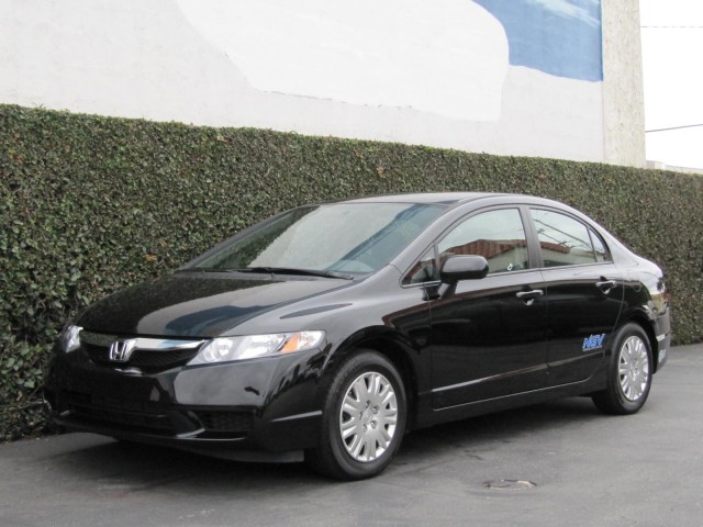 2010 Honda Civic GX natural-gas vehicle, Los Angeles, November 2010