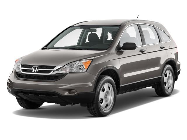 2010 Honda CR-V 2WD 5dr LX Angular Front Exterior View
