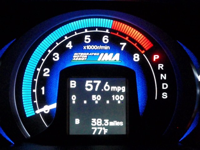 2010 Honda Insight - 57 mpg