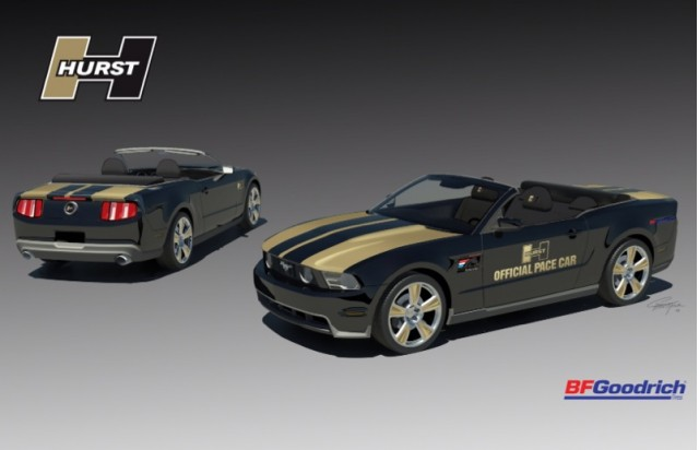 Hurst Returns With 2010 Mustang Convertible Pace Car