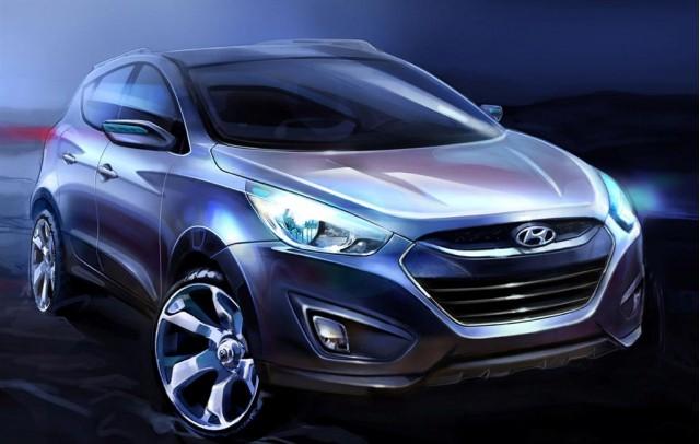 2010 Hyundai Tucson Teaser