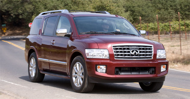 Infiniti's QX56 will only have to soldier on for only another year or so as an all-new model is due by mid 2011