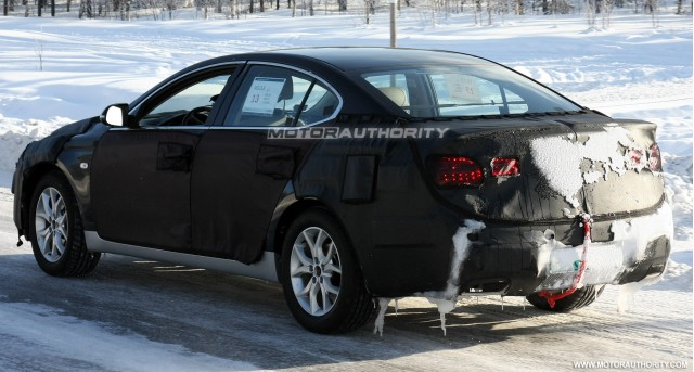 2010 kia amanti vg spy shots march 006
