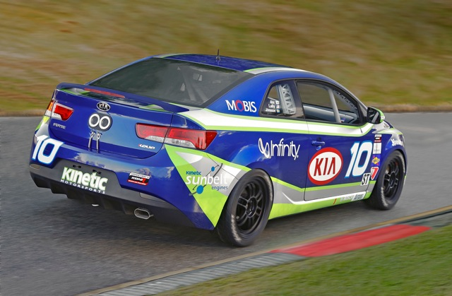 2010 Kia Forte KOUP GRAND-AM KONI Challenge Race Car