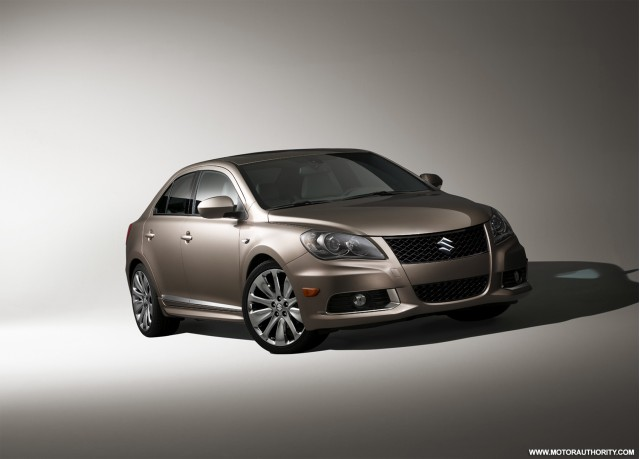 Rumor: Suzuki To Sell Hybrid Kizashi Sedan In U.S. By 2011