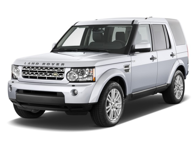 Angular Front Exterior View - 2010 Land Rover LR4 4WD 4-door V8
