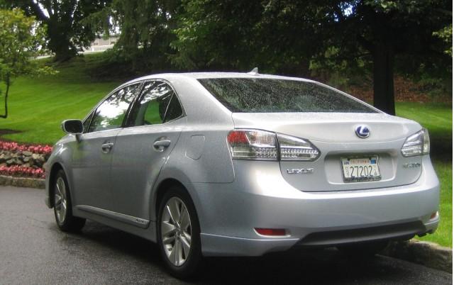 2010 Lexus HS250h - rear