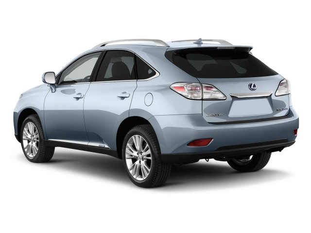 Angular Rear Exterior View - 2010 Lexus RX 450h AWD 4-door Hybrid
