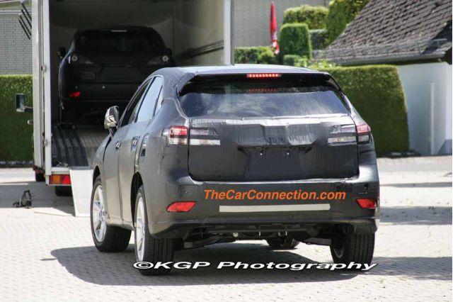 2010 Lexus RX Spy Shots