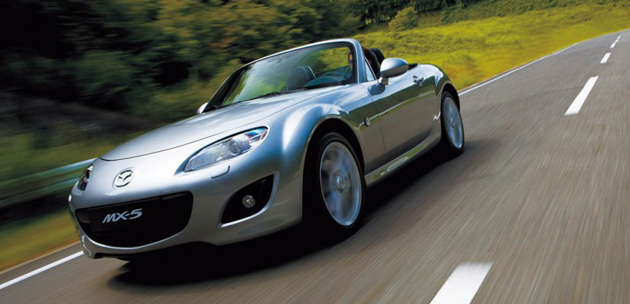 Mazda's MX-5 (Miata) recently underwent a facelift to keep it fresh until the arrival of the next-gen model in 2012