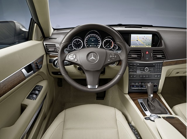 Coupe interior has been lifted straight out of the recently revealed E-Class Sedan