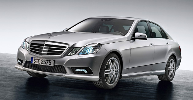 The BlueEfficiency badge is the Mercedes-Benz way of saying 'green'