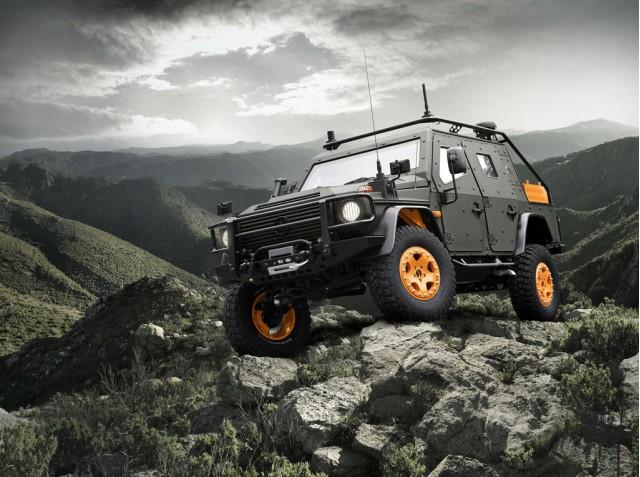 Mercedes-Benz G-Wagon LAPV 6.X concept