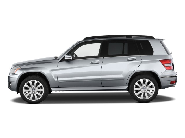 2010 Mercedes-Benz GLK Class RWD 4-door Side Exterior View