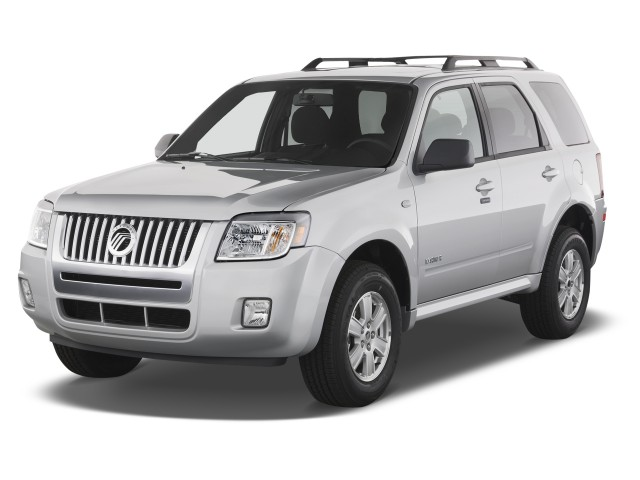 2010 Mercury Mariner FWD 4-door Angular Front Exterior View