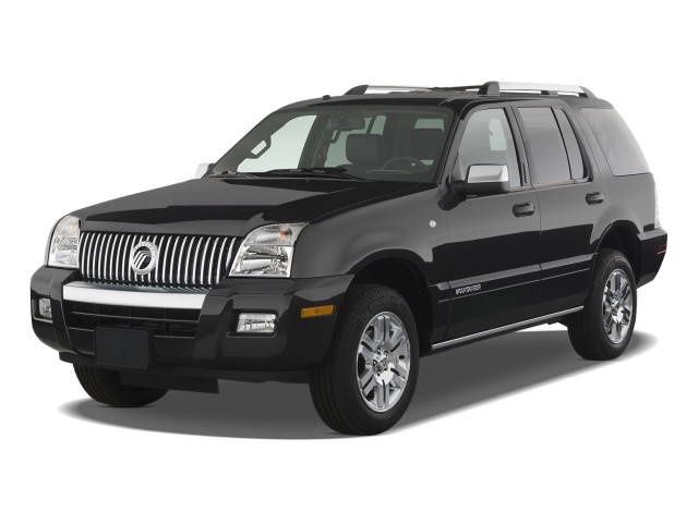2010 Mercury Mountaineer RWD 4-door V6 Premier Angular Front Exterior View
