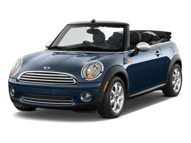 2010 MINI Cooper Convertible 2-door Angular Front Exterior View