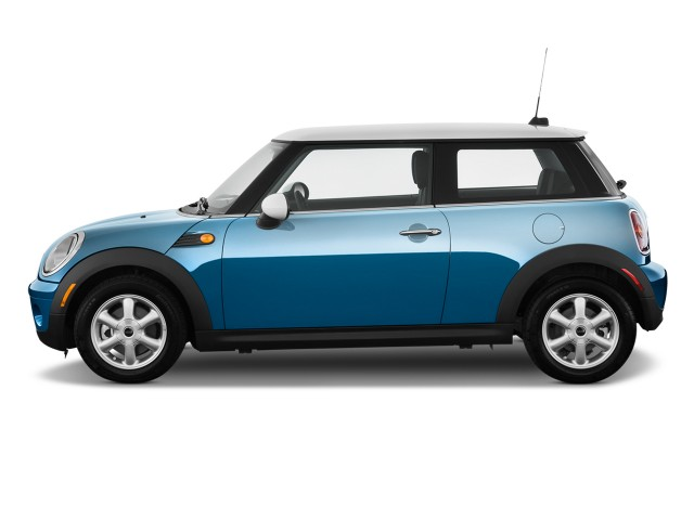 2010 MINI Cooper Hardtop 2-door Coupe Side Exterior View