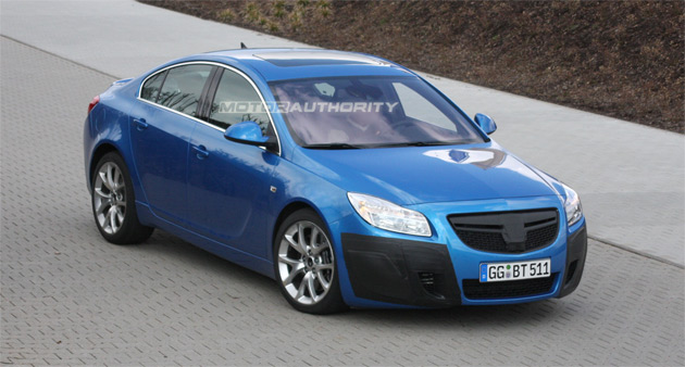 The new OPC Insignia sedan and Sports Tourer wagon are expected to debut at September's Frankfurt Motor Show