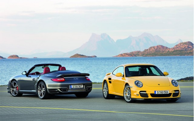 2010 Porsche 911 Turbo Coupe and Cabriolet