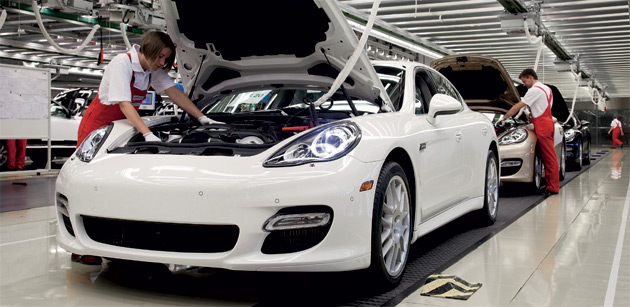2010 Porsche Panamera assembly facility, Leipzig, Germany