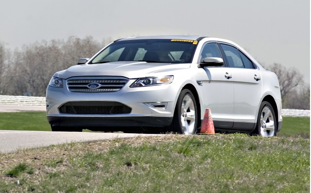 2010 Pre-Production Taurus SHO at Ford's Dearborn Proving Grounds