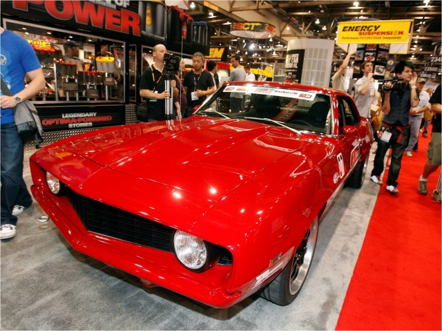 2010 SEMA GT Award winner, 1969 Chevrolet Camaro custom