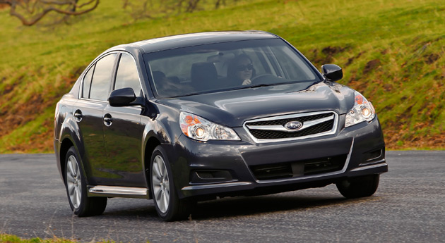 The Subaru Legacy has been on sale for 20 years and is now going into its fifth generation