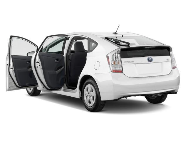 2010 Toyota Prius 5dr HB II (Natl) Open Doors