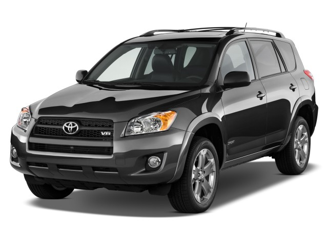 Angular Front Exterior View - 2010 Toyota RAV4 FWD 4-door V6 5-Spd AT Sport (Natl)