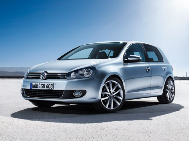 The sixth-generation of the fabled Volkswagen Golf, shown here in a German publicity photo.