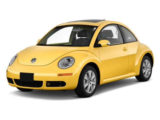 2010 Volkswagen New Beetle Coupe 2-door Man Angular Front Exterior View
