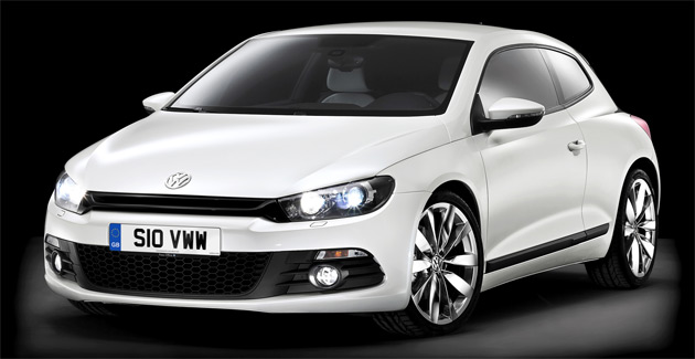 The Scirocco GT TDI offers fuel economy of 44mpg (5.3L/100km) yet can comfortably reach a top speed of 222km/h