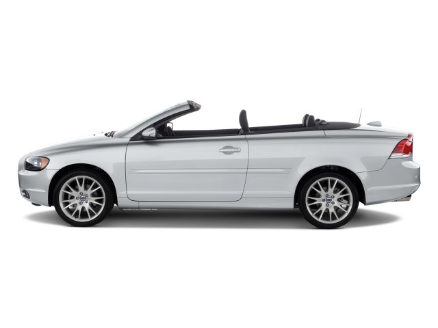 Side Exterior View - 2010 Volvo C70 2-door Convertible Auto