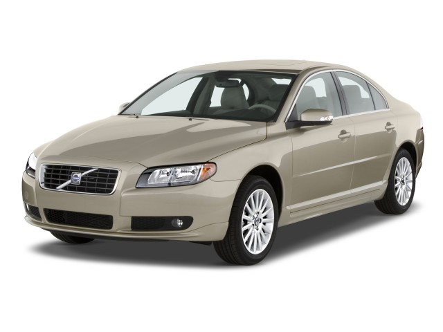 2010 Volvo S80 4-door Sedan I6 FWD Angular Front Exterior View