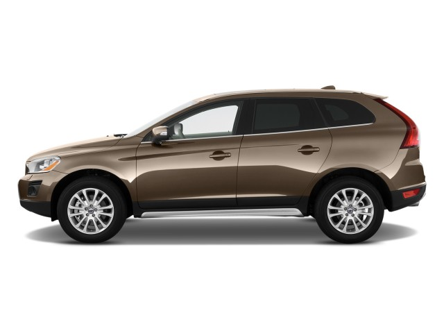 2010 Volvo XC60 AWD 4-door 3.0T w/Moonroof Side Exterior View