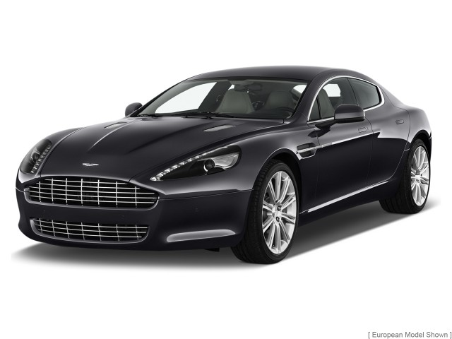 2011 Aston Martin Rapide 4-door Sedan Auto Angular Front Exterior View