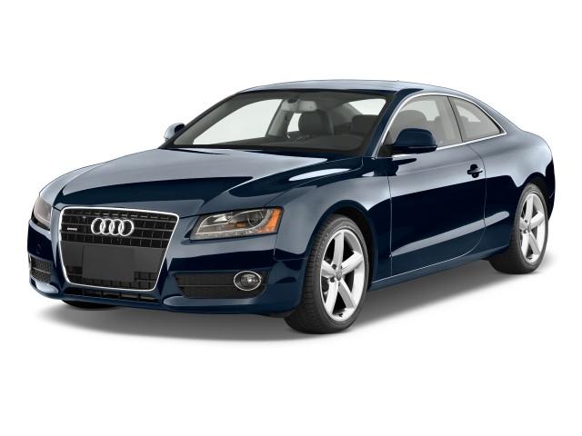 Angular Front Exterior View - 2011 Audi A5 2-door Coupe Auto quattro Premium Plus