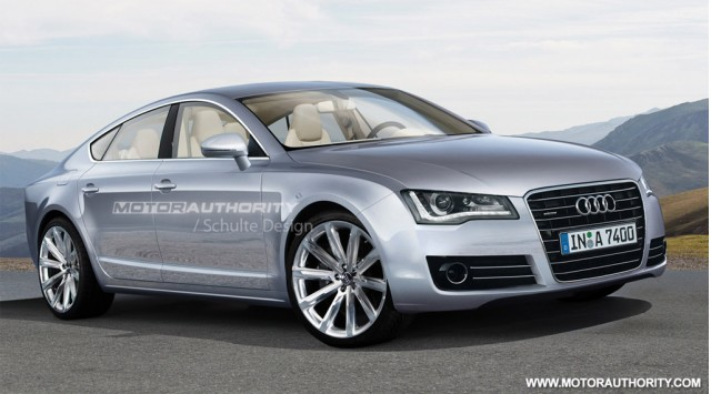 2011 Audi A7 rendering