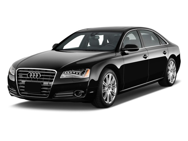 2011 Audi A8 L 4-door Sedan Angular Front Exterior View