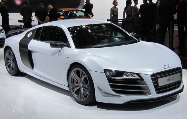 2011 Audi R8 GT live photos