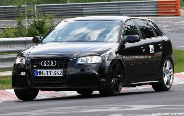 2011 Audi RS3 spy shots