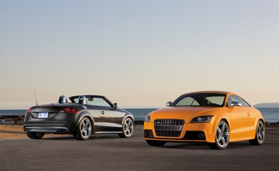 2011 Audi TTS Roadster and Coupe