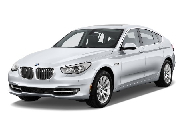 2011 BMW 5-Series Gran Turismo 4-door Sedan 550i Gran Turismo RWD Angular Front Exterior View