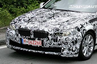 Spy Shots: 2010 BMW 5-Series