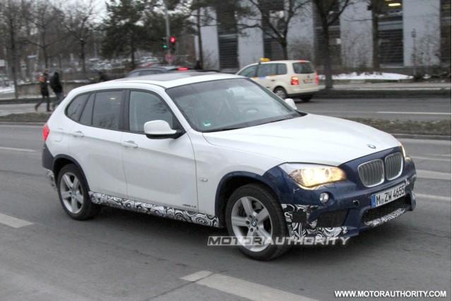 2012 BMW X1 M Sport Package spy shots