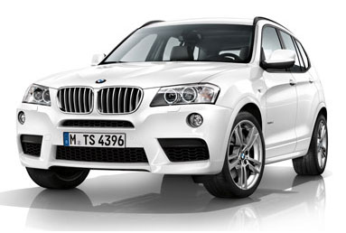 2011 BMW X3 M Sports Package leak