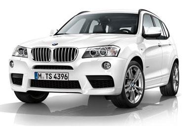 2011 BMW X3 M Sports Package leak