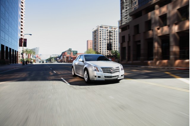 The upcoming compact Caddy will be dubbed ATS. The 2011 Cadillac CTS Sedan is shown here.
