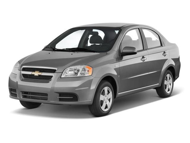 2011 Chevrolet Aveo 4-door Sedan LS Angular Front Exterior View